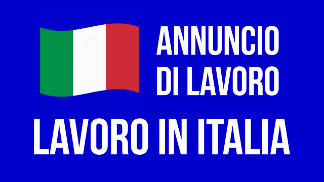 annunci lavoro italia